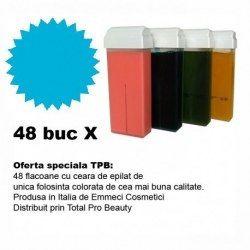 Oferta 48 cartuse ceara epilat colorata