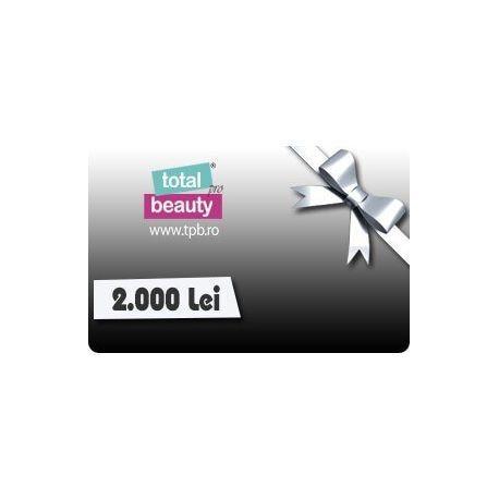 Card Cadou 2000 Lei