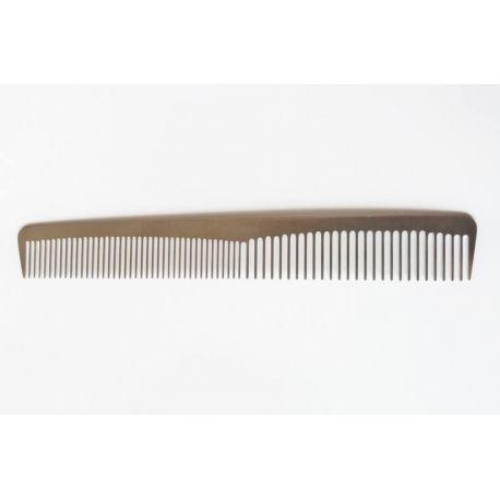 Pieptan frizerie din metal - 17,5cm