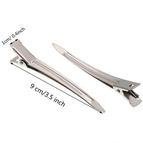 Clipsuri frizerie metal 9cm