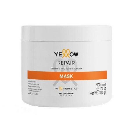 Masca de par reparatoare Yellow 500ml