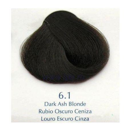 Vopsea de par Yellow 6.1 blond cenusiu inchis