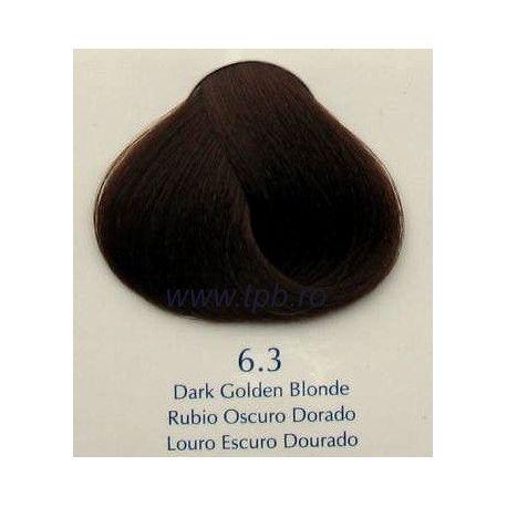 Vopsea de par Yellow 6.3 Blond auriu inchis