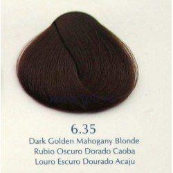 Vopsea par profesionala Yellow 100ml 6.35 - blond auriu mahon inchis