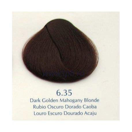 Vopsea de par Yellow 6.35 blond auriu mahon inchis