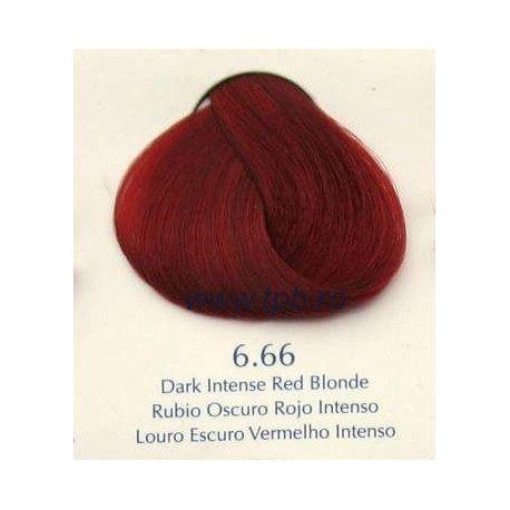 Vopsea de par Yellow 6.66 Rosu blond inchis intens