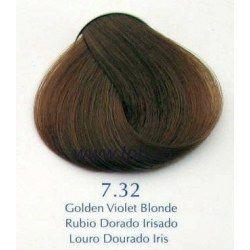 Vopsea de par Yellow 7.32 Violet auriu blond