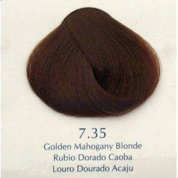 Vopsea par profesionala Yellow 100ml 7.35 - blond auriu mahon