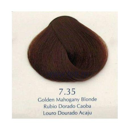 Vopsea de par Yellow 7.35 Blond auriu mahon