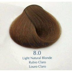 Vopsea de par Yellow 8.0 blond natural deschis