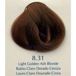 Vopsea de par Yellow 8.31 auriu blond cenusiu deschis