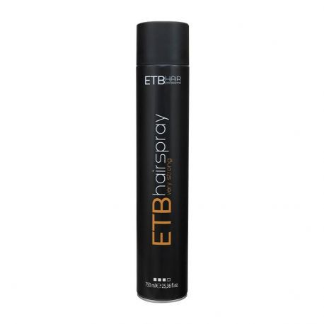 Fixativ spray ETB Hair Professional fixare puternica 750 ml