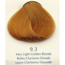 Vopsea de par Yellow 9.3 auriu blond foarte deschis