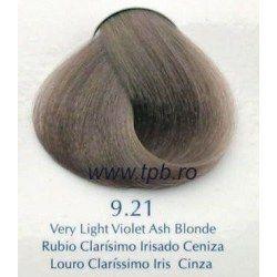 Vopsea de par Yellow 9.21 cenusiu violet blond deschis