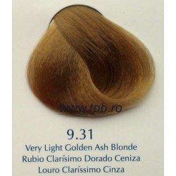 Vopsea de par Yellow 9.31 blond cenusiu foarte deschis