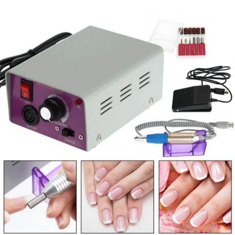 Freza unghii profesionala, pila electrica, unghii false 30000rpm