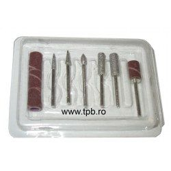 Set 6 capete freze diamantate