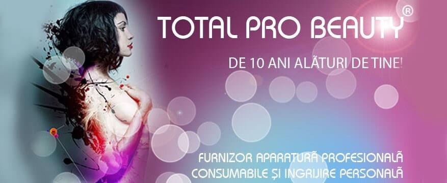 Total Pro Beauty - furnizor de aparatura profesionala consumabile si ingrijire personala